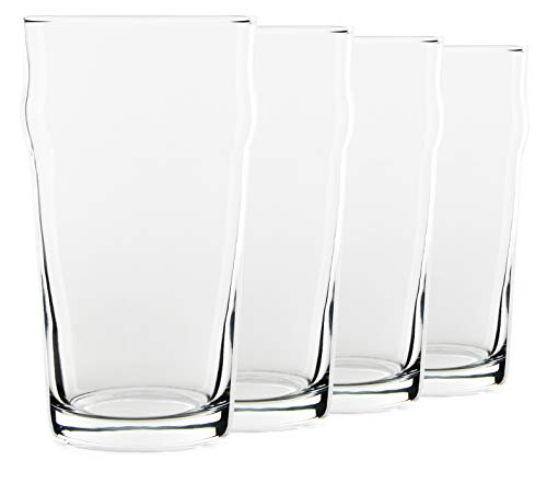 19oz English Lager Beer Glasses, Set of 4 by - Ounce 19 Pilsner Beer