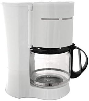 Cafetera eléctrica Cook It 1000 W 10 – 12 tazas 1,2L Color Blanco ...