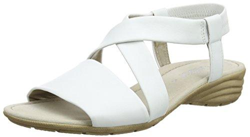 21 Sandales blanches Fashion compensées Gabor weiss femmes pour 7vTqn0
