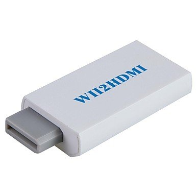 Wii to HDMI HD 480P Output 3.5mm Audio Converter Adapter