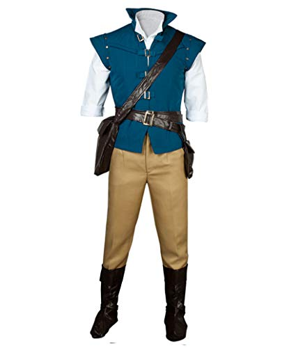 CosFantasy Best Flynn Rider Cosplay Costume mp001594 (XXXL(Bust: 41inch))]()