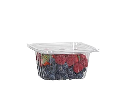 Amazon com: MyEcoPlanet BioDegradeable 16oz  Rectangle Salad