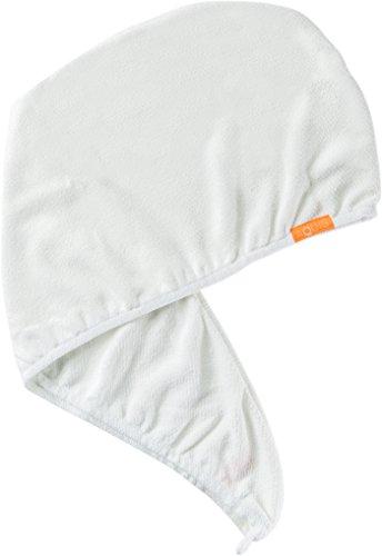 Aquis Hair Turban Lisse Luxe 10'' X 30'' - White by AQUIS