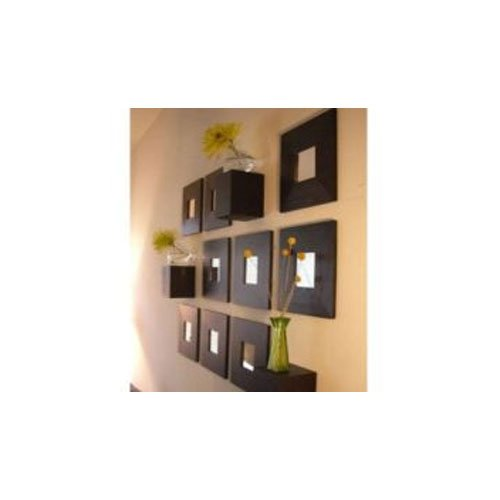 Amazon.com: 1 X Ikea Malma Black Decorative Wall Mirror Wood by ...