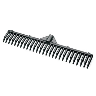 (Sweepa - Rubber Rake (Head Only) No Scratching, No Noise, Flexible 100% rubber rake for leaves, pine needles and pine cones)