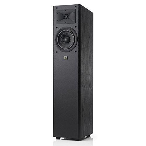 JBL Arena 170 Black 2-Way 7-Inch Floorstanding Loudspeaker (Black) - - Loudspeaker Standing Single Floor