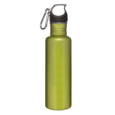 Sagaform Sports Bottle with Hook, Green (Sagaform Green)