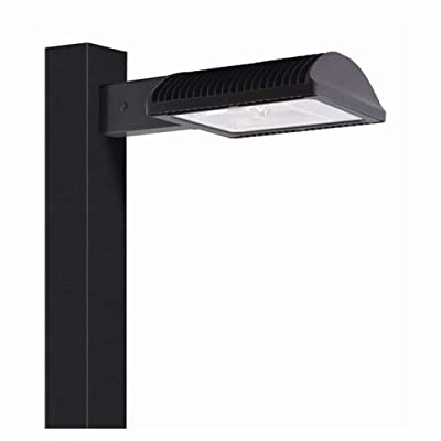 RAB Lighting ALED3T105/480 LED High Wattage Type III Area Light, 5000 K (Cool) Color Temperature, Standard Type, Bronze Finish