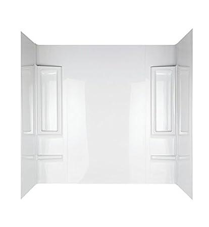 Delta 39984 Bathtub Wall Set, High Gloss White, 5-Piece - - Amazon.com