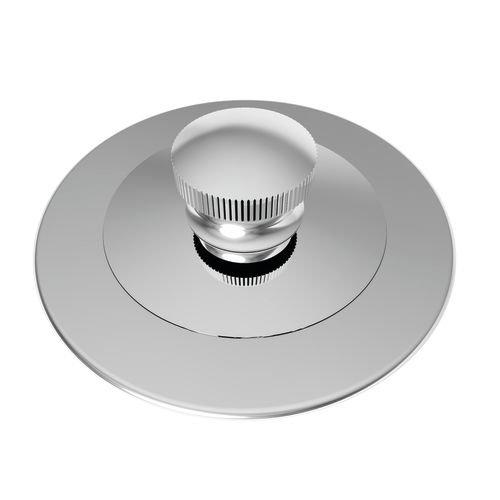 Brasstech 270/26 Lift and Turn Bath Plug, Polished Chrome by BrassTech