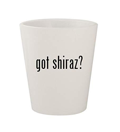 got shiraz? - Ceramic White 1.5oz Shot ()