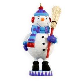 2009 Nutcracker Ornament - Jolly Snowman Nutcracker Series 2009 Hallmark Ornament