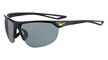 bb8579d9b284 Amazon.com : Nike Golf Cross Trainer Sunglasses, Black/Volt Frame ...