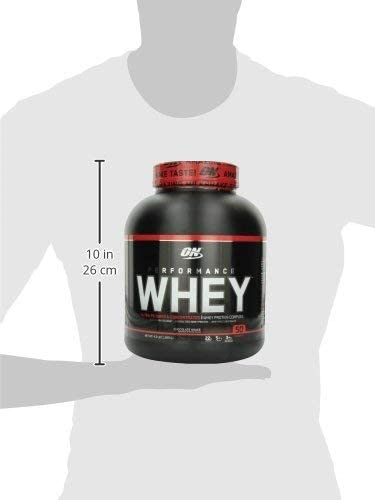 Optimum Nutrition Performance Whey Protein Powder, Whey Protein Concentrate, Whey Protein Isolate, Hydrolyzed Whey Protein Isolate, Flavor Chocolate Shake, 50 Servings