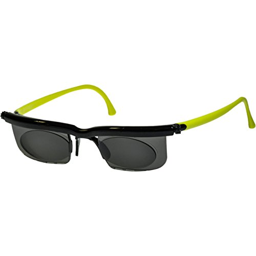 UPC 812316020418, Adlens Sundials Frame Tinted Glasses, Black/Green