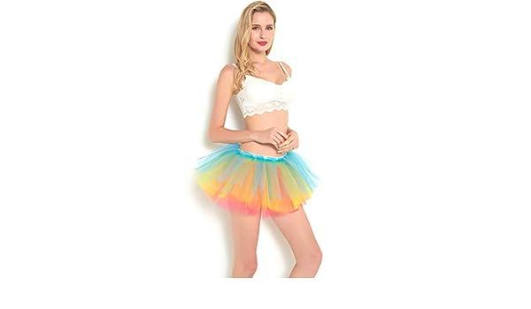 Falda de tutú Fendiy para baile de ballet para mujer con lazo de ...