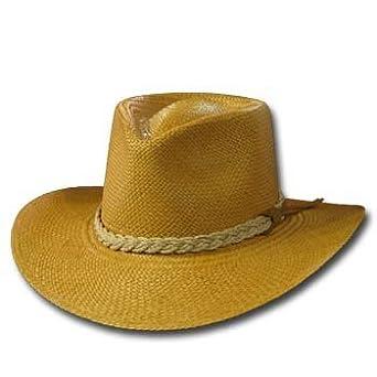 530cedf8d621 Amazon.com: Classic Aficionado Putty Panama Hat Fine Straw Wide Brim 6 5/8:  Clothing