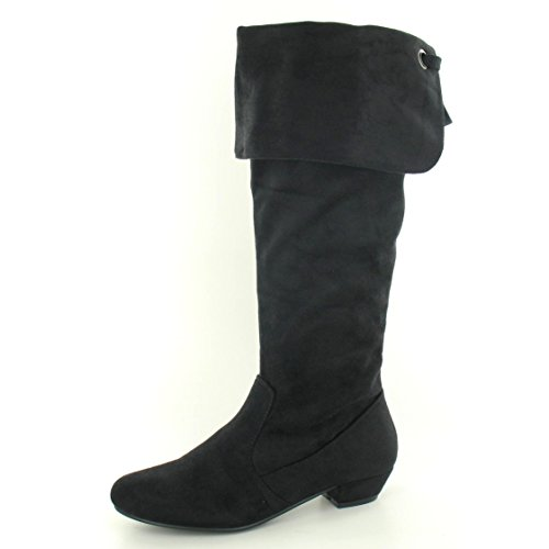 Ladies High Boots Spot Black Knee On 1t8R1znrq