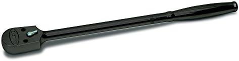 """WILLIAMS 1/2"""" DR ENCLOSED HEAD RATCHET 10-5/16"""", LONG BLACK (SB-52EHLA) 1/2""""ドライブ シールドヘッドラチェット 10-5/16インチ ロング インダストリアルフィニッシュ JHWSB-52EHLA"""