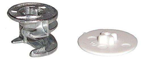 15mm X 12mm Cam Lock Disc Nut Furniture Connector Fastener