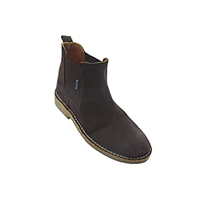 K901PC - Zapato safari combinado chocolate - rojo (43) l6KohD