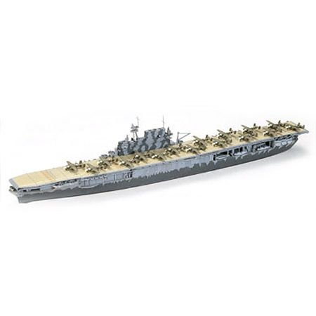 Tamiya America, Inc 1/700 Hornet Aircraft Carrier, TAM77510 1 700 Scale Model Ships