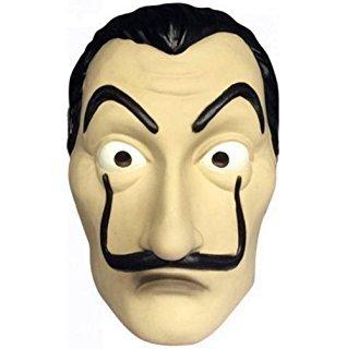 maschera dali casa di carta  EUROCARNAVALES Kit CASA di Carta-Costume Maschera e Mitra della ...