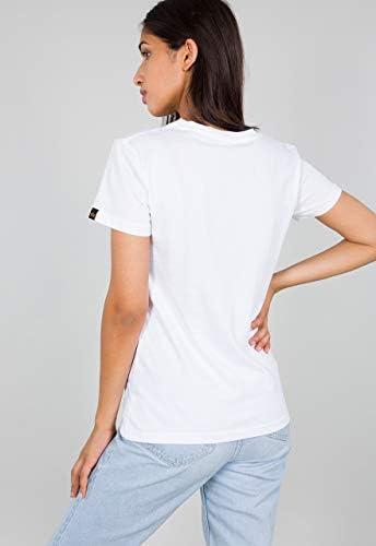 Alpha Industries Basic Small Logo damska koszulka: Odzież