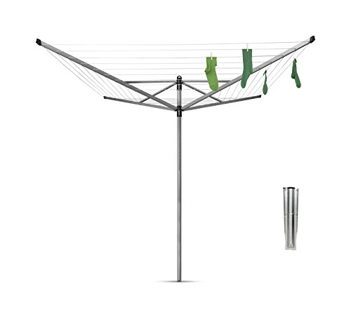 Brabantia Lift-O-Matic Rotary Dryer Clothes Line - 164 feet, 310942 by Brabantia