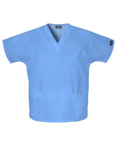 V-neck Cherokee Scrub Pocket 2 (WorkWear 4700 Women's V-Neck 2-Pocket Scrub Top Ceil 6X-Large)