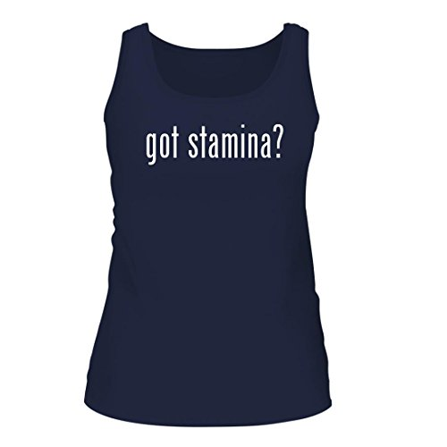 got stamina? - A Nice Women's Tank Top, Navy, X-Large