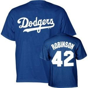 Jackie Robinson Brooklyn Dodgers Boys Kids Shirt - Medium -
