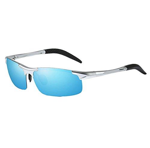 Hommes Lunettes Lumière UV400 99 De Blue Soleil QQBL TAC Perspective Visible Aluminium Magnésium Polarisé v66gwqd
