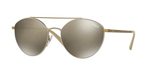 Vogue Eyewear Womens Sunglasses (VO4023) Gold/Pink Metal - Non-Polarized - 56mm