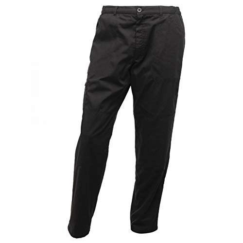 Regatta Mens Pro Cargo Waterproof Trousers - Regular (40in) (Traffic Black)