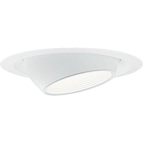 Progress Lighting P8077-28 Transitional Eyeball Trim Collection in White Finish, 7-3/4-Inch Diameter