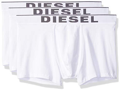 (Diesel Men's UMBX-Damienthreepack Boxer 3pack All-Timers, Medium/White, M)