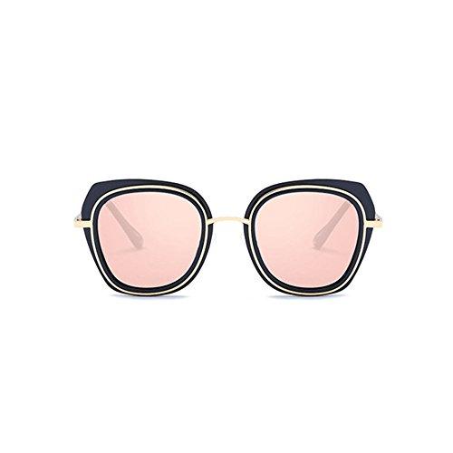 color oscuras sol tendencia estrellas Aoligei brillante y de gafas de sol Hombre gafas F gafas grandes polarizado 6UYgq