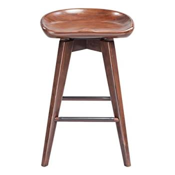 Amazon Com Boraam 54124 Bali Counter Height Swivel Stool