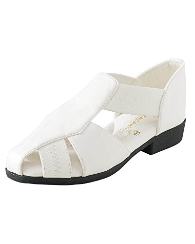 Beacon Fisherman Sandals, White, 6.5 C/D US