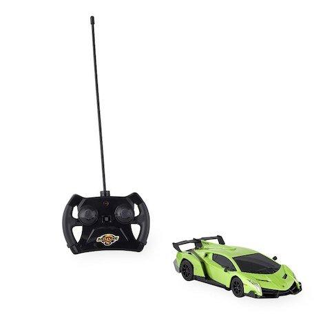 Lamborghini Radio Controlled Remote Control (Fast Lane 1:24 Scale Remote Control Car - Lamborghini Veneno LP 750-4 Green)