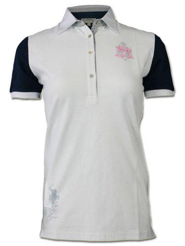 LA MARTINA Damen Designer Polo Shirt - NUMERO 1 -M