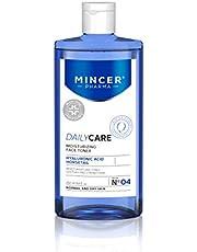 Mincer Pharma Daily Care Hydraterende en verzachtende gezichtstonic voor normale en droge huid met arnica, sheaboter, zoethoutboter, aloë, paardestaart en hyaluronzuur, 250 ml