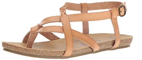 Blowfish Women's Granola-B Flat Sandal, Nude Dyecut, 8.5 Medium US