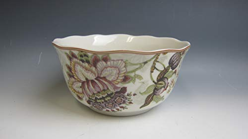 Cream Cereal Bowl - 222 Fifth PTS GABRIELLE-CREAM Coupe Cereal Bowl EXCELLENT
