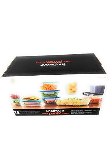 Snapware Pure Pyrex 18-piece Glass Food Storage Set (Snapware Pyrex 18 Piece Glass Storage Set)