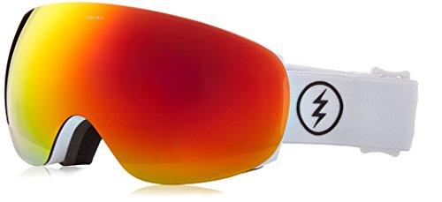 - Electric Visual EG3.5 Gloss White/Jet Black Snow Goggle