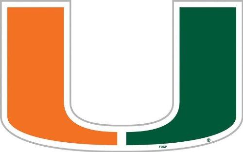 NCAA Miami Hurricanes 12 inch Vinyl Magnet