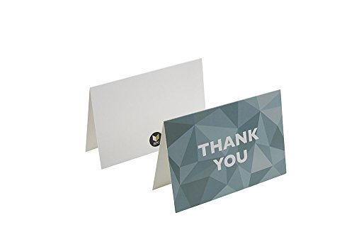 Thank You Cards - 48-Count Thank You Notes, Bulk Thank You Cards Set - Blank on the Inside, 6 Stained Glass Pattern Designs – Includes Thank You Cards and Envelopes, 4 x 6 Inches by Best Paper Greetings (Image #6)