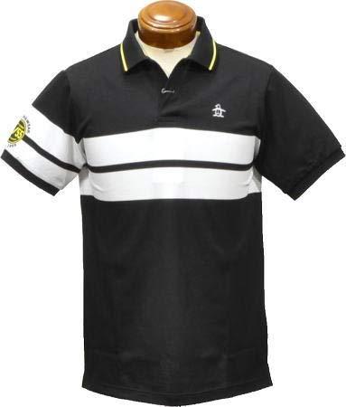 [マンシングウェア] 半袖シャツ MGMMJA05 メンズ 日本 3L (日本サイズ3L相当) BK00(ブラック) B079HZKQQL